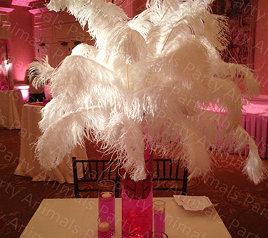Party Animals Sweet 16 Birthday Centerpieces